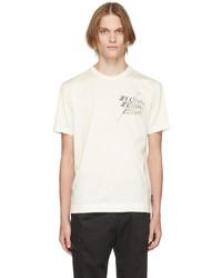 Z Zegna Off White Graphic Logo T Shirt