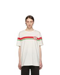 Gucci Off White Interlocking G T Shirt