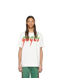 Gucci Off White Logo T Shirt