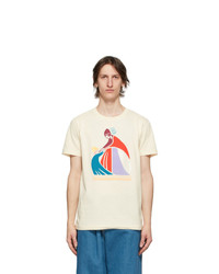 Lanvin Off White Mother And Child T Shirt