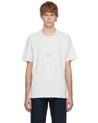 Saint Laurent Off White The Sound Of Silence T Shirt