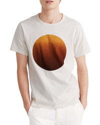 Madewell Ombre Sun Graphic Crewneck Tee
