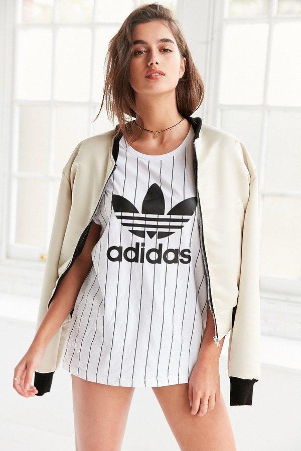 adidas Originals SOS Tennis Boyfriend Trefoil Tee