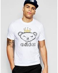 adidas Originals X Nigo T Shirt With Artist Bear Print Aj5203