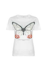 Golden Goose Deluxe Brand Pearlescent Butterfly T Shirt