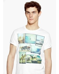 Mango Photo Print T Shirt