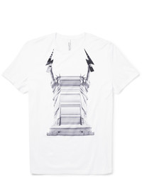 Neil Barrett Printed Cotton Jersey T Shirt