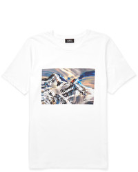 A.P.C. Printed Cotton Jersey T Shirt