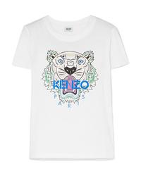 Kenzo Printed Cotton Jersey T Shirt