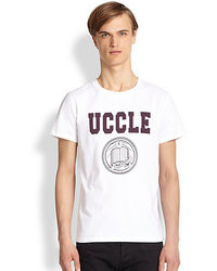 A.P.C. Printed Cotton Jersey Tee