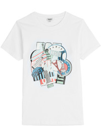 Kenzo Printed Cotton T Shirt