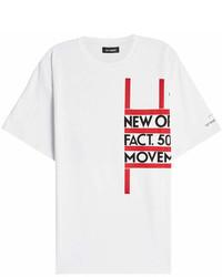 Raf Simons Printed Cotton T Shirt