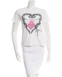 Emilio Pucci Printed Graphic T Shirt