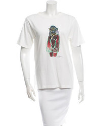 Marni Printed Short Sleeve T Shirt