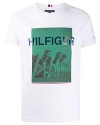 Tommy Hilfiger Printed T Shirt
