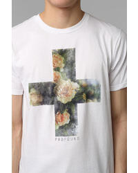 Urban Outfitters Profound Sthetic Floral Cross Tee