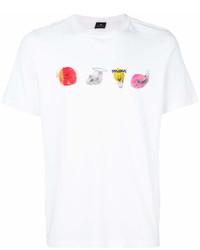 Paul Smith Ps By Logo Print T Shirt
