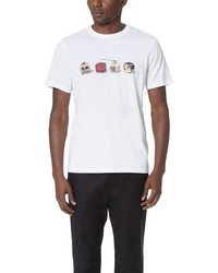 Paul Smith Ps By Regular Fit Tee With Dice Print