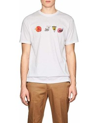 Paul Smith Ps By Skull Print Cotton T Shirt