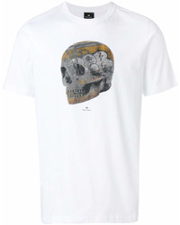 Paul Smith Ps By Skull Print T Shirt