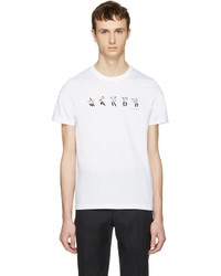 Paul Smith Ps By White Dancing Dice T Shirt