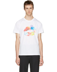 Paul Smith Ps By White Lips T Shirt
