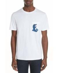 Paul Smith Ps Dino Print Pocket T Shirt