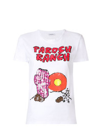 P.A.R.O.S.H. Ranch Graphic Sequined T Shirt