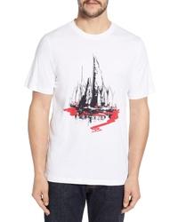 Bugatchi Regular Fit Graphic T Shirt