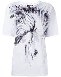 Roberto Cavalli Zebra Print T Shirt