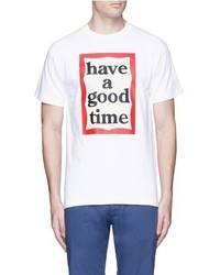 Have A Good Time Scribble Frame Print T Shirt