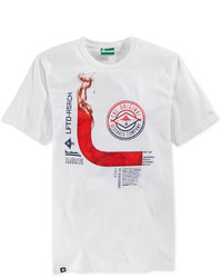 Lrg Smoke Room Graphic Print Logo T Shirt