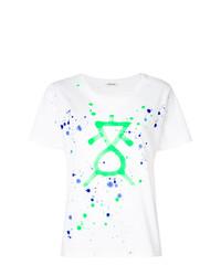 P.A.R.O.S.H. Splatter Print T Shirt