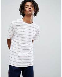 Calvin Klein Jeans T Shirt With All Over Logo White