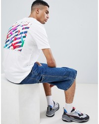 YOURTURN T Shirt With Back Print In White