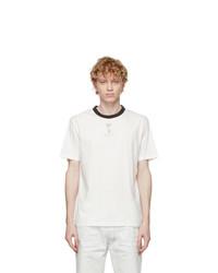 Maison Margiela Three Pack White Stamp T Shirts