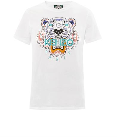 ... Kenzo Tiger Print T Shirt