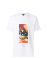 Lanvin Tourist Landscape T Shirt