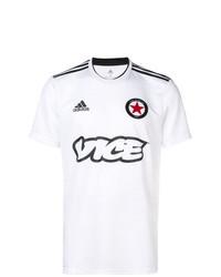 adidas Vice Print Football T Shirt