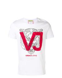 Versace Vj Printed T Shirt