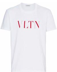 Valentino Vltn Print T Shirt