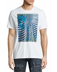 PRPS Wave Graphic Print Logo T Shirt