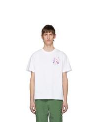 Carne Bollente White Adam In Eve T Shirt