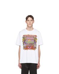 Neil Barrett White And Multicolor Artist T Shirt
