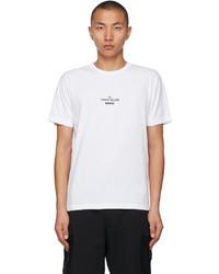 Stone Island White Archivio Project T Shirt