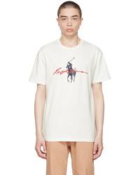 Polo Ralph Lauren White Big Pony Logo T Shirt
