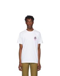 A.P.C. White Brain Dead Edition Dusty T Shirt