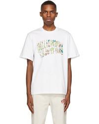 Billionaire Boys Club White Camo Arch Logo T Shirt