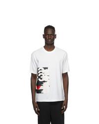 Y-3 White Ch1 Gfx T Shirt