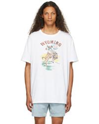Polo Ralph Lauren White Classic Fit Graphic T Shirt